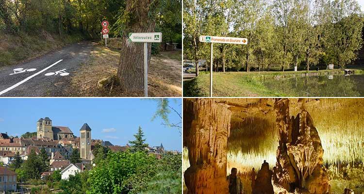 Véloroute - Promenade en Bouriane